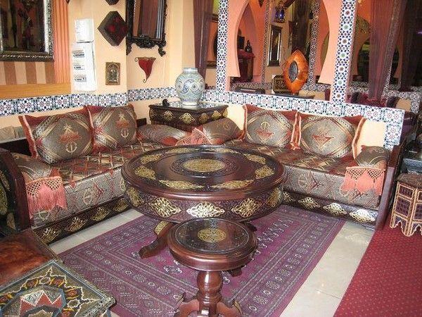 Le monde du salon marocain for Matelas de salon marocain